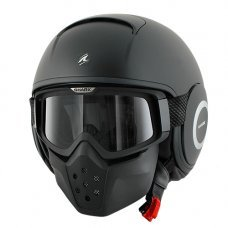 CASCO SHARK RAW NEGRO MATE (TALLA: S)