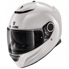 CASCO INTEGRAL SHARK SPARTAN FIBRA BLANCO