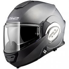CASCO LS2 FF399 VALIANT SINGLE MONO MATT TITANIUM