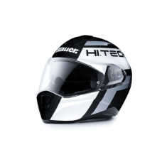 CASCO BLAUER FORCE ONE 800 NEGRO-BLANCO