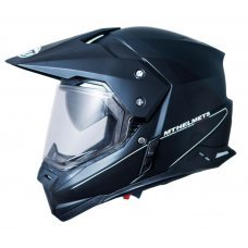 CASCO MT SYNCHRONY DUO SPORT SOLID NEGRO BRILLO