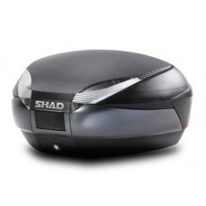 BAUL SHAD SH48 NEGRO/GRIS OSCURO 48 LITROS